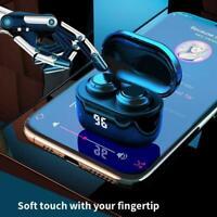 Wireless Bluetooth 5.0 Earbuds TWS HiFi Waterproof Stereo Headphone Headset A9U8