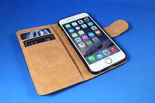 Handytasche iPhone 4 Handyetui schwarz, Book Case Handyhülle Handy Tasche Klapp