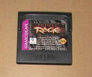 Primal Rage for Sega Game Gear Fast Shipping Authentic