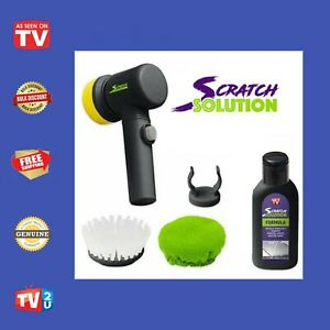 Scratch Solution # As Seen On TV # Genuine Product # Beware of Fakes #