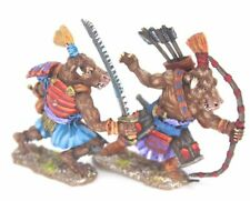 Samurai Minotaur Collection Warhammer Fantasy Armies 28mm Unpainted Wargames