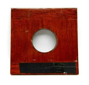 Wooden 4x4 inch Lens Board For Large Format Cameras #M1046