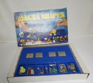 Vintage Super Magna Shapes The Original Magnetic Construction 73 pieces