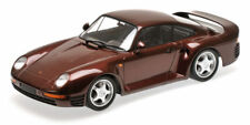 Porsche 959 Red Metallic 1987 1:18 Model MINICHAMPS