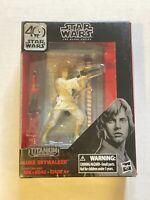 Star Wars Black Series 40th Anniversary Luke Skywalker Titanium Series New