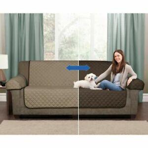 Mainstays Reversible Microfiber Fabric Pet/furniture Sofa Cover