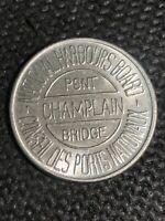 Token National Harbours Board Bridge Champlain Pint Counseil Ports Coin C24