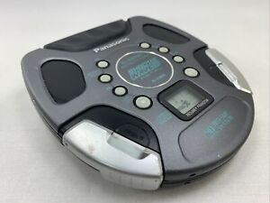 PANASONIC SL-SW890 CD Player SHOCK WAVE Portable METAL Anti-Skip S-XBS EUC WORKS