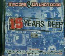 15 Years Deep [PA] by Mac Dre (CD, Apr-2005, Thizz Nation) - Bay Area Rap - OOP