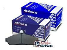 Mitsubishi Pajero NS Front & Rear Disc Brake Pads 2006-2008 4D genuine Acdelco