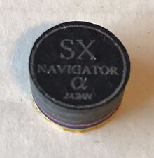 Navigator Alpha Super Soft SX Black Pool Cue Tips 1 Tip FREE Shipping
