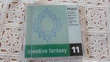 Pfaff Emb Card Creative #11 Frames Borders 7570 7560 2140 2170