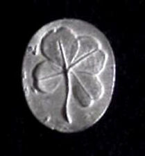 5 Lucky Clover Lead-Free Pewter Pocket Token - St. Patrick's Day