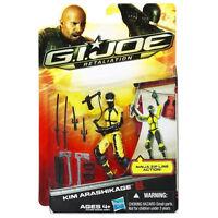 "GI Joe Retaliation Kim Arashikage Jinx Yellow 3 3/4"" Ninja Figure Brand New"