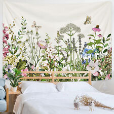 Tapestry Flower Wall Hanging Bohemian Throw Blankets for Home Living Rom Decor