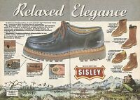 X0561 Sisley - Relaxed Elegance - Pubblicità del 1985 - Vintage advertising