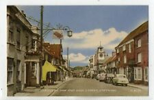 """""""""""POSTCARD CHEQUERS INN AND HIGH STREET,STEYNING,SUSSEX."""""""""""