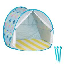 Open Box!!Babymoov XL Anti-UV Beach Pop Up Tent (zips)   UPF 50+ Sun Protection