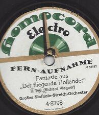Sinfonie Orchester 1927  aus der Wagner Oper DER FLIEGENDE HOLLÄNDER