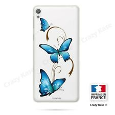 Case for Sony Xperia E5 Flexible Pattern Butterfly on Arabesque