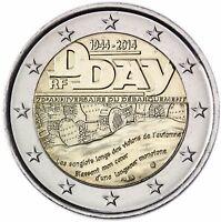 Frankreich 2 Euro 2014 D Day 1944 Landung in der Normandie bankfrisch