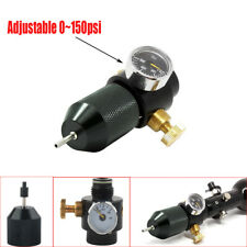 Paintball Airsoft Co2 Regulator Valve Needle w/Outlet Refill Adapter 0~150psi