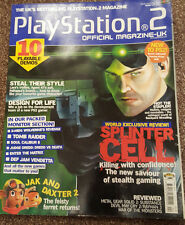 OFFICIAL UK PLAYSTATION 2 MAGAZINE ISSUE NO.32--SPINTER CELL COVER