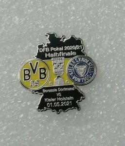 Borussia Dortmund Pin DFB Pokal Halbfinale 2021 BVB - Holstein Kiel badge