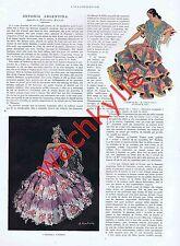 L'illustration 4448 02/06/1928 Antonia Argentina Danse Hugo Drouet Hydravion Ads