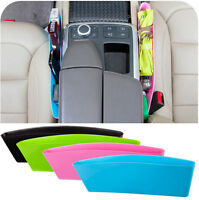 Hot Sale 2pcs Catch Catcher Storage Organizer Box Caddy Car Seat Slit Pocket