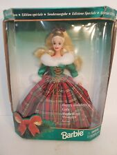 Mattel - Barbie Doll - 1995 Special Edition Happy Holidays Gala *Non-Mint BOX*