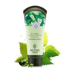 Tea Tree Essence Purifying Exfoliating Face Scrub Cream Exfoliator Peeling Gel