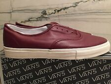 Vans Vault Authentic Premium LX Tawny Port 13 syndicate supreme wtaps leather