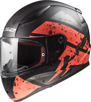 LS2 FF353 Rapid Casco Integral Single Mono Mate Casco Atv Quad Moto Scooter