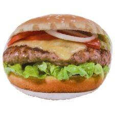 Kissen Hamburger Zierkissen Sofakissen Dekokissen Fast Food Fotorealistisch