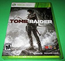 Tomb Raider Microsoft Xbox 360 *Factory Sealed! *Free Shipping!
