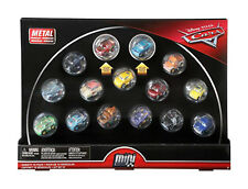 Disney Pixar Diecast Metal Cars Mini Racers 15-Pack NEW SEALED Mattel FREE SHIP