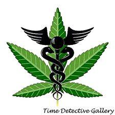 Medical Marijuana Logo - Giclee Photo Print