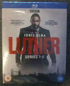 Luther: Series seasons 1, 2, 3, 4 & 5 Blu-ray Box Set Brand New Sealed