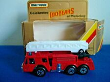 MATCHBOX MB18 - FIRE ENGINE - 100 YEARS OF MOTORING BOX
