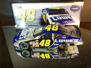 Jimmie Johnson #48 Lowe's Autographed Champ Year 2007 Chevrolet Monte Carlo