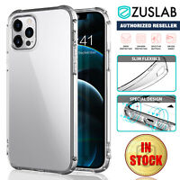 For Apple iPhone 12 11 Pro Max mini XS XR 7 8 Plus SE Case Clear Soft Shockproof