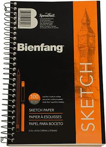Bienfang R237104 Sketchbook 5 1/2 by 8 1/2-Inch , 100 Sheets