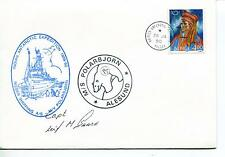 Rieber Shipping A/S  M/V Polarbjorn Alesund Polar Antarctic Cover SIGNED