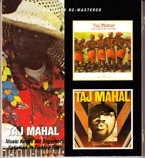Taj Mahal Music inseparabilità me together/satisfield 'n ticked too 2cd NUOVO OVP/SEALED