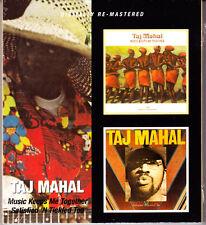 TAJ MAHAL music keeps me together/satisfield´n ticked too 2CD NEU OVP/Sealed