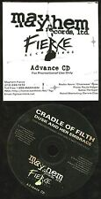 Cradle Of Filth Dusk And Her Embrace PROMO CD