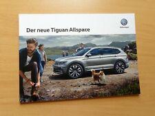 1315 VW Tiguan Allspace Prospekt 11/2017  R Line Offroad Pak. Trendline Highline