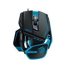 Mad Catz R.A.T TE RAT Gaming Mouse 8200 dpi Laser Sensor Black / Blue