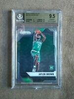2016-17 Panini Prizm Jaylen Brown RC Rookie Card #44 BGS Graded 9.5 Gem Mint